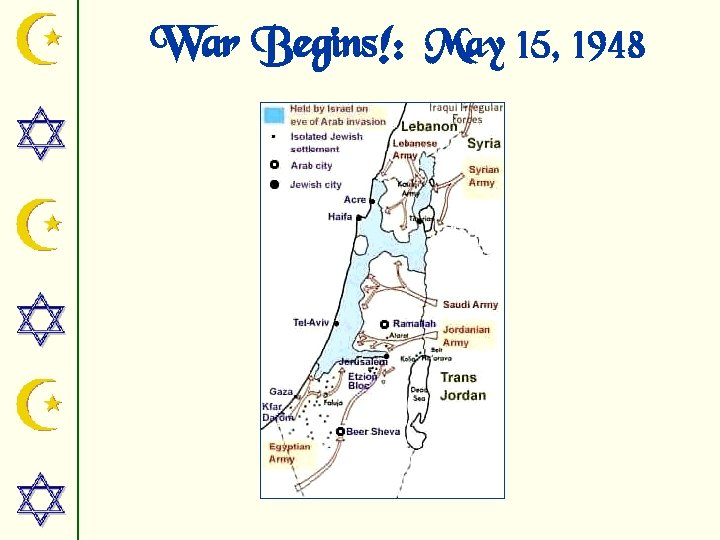 War Begins!: May 15, 1948