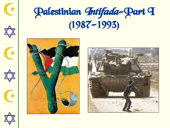 Palestinian Intifada-Part I (1987 -1993)