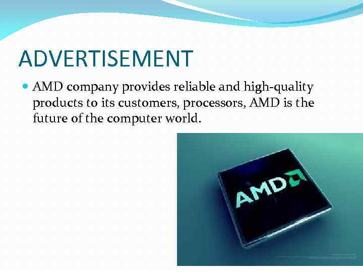 Advanced Micro Devices AMD Work performed Student 31