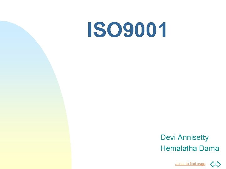ISO 9001 Devi Annisetty Hemalatha Dama Jump to first page