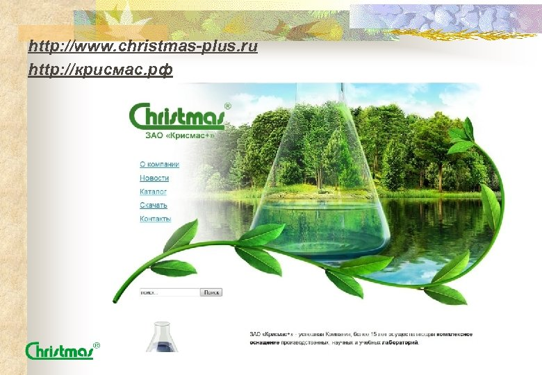 http: //www. christmas-plus. ru http: //крисмас. рф