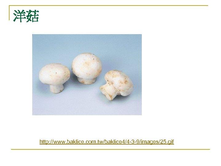 洋菇 http: //www. baklice. com. tw/baklice 4/4 -3 -9/images/25. gif