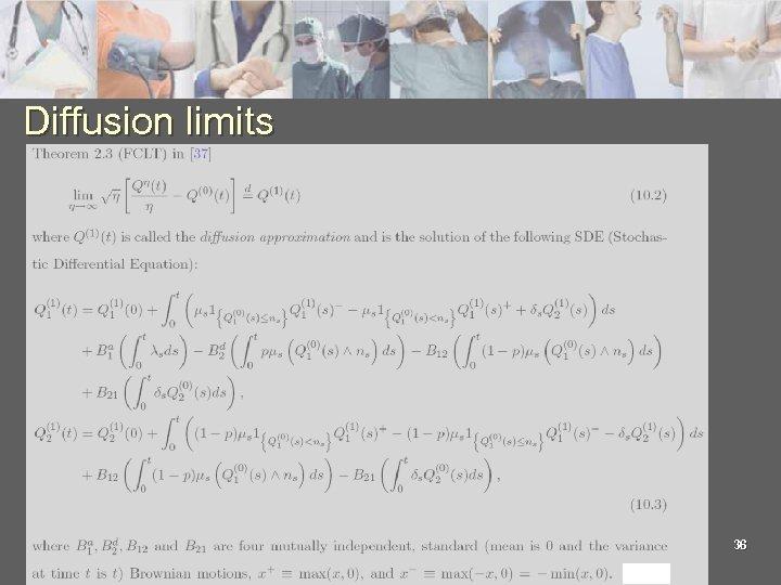 Diffusion limits 36