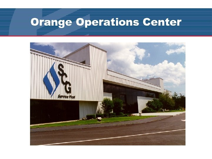 Orange Operations Center