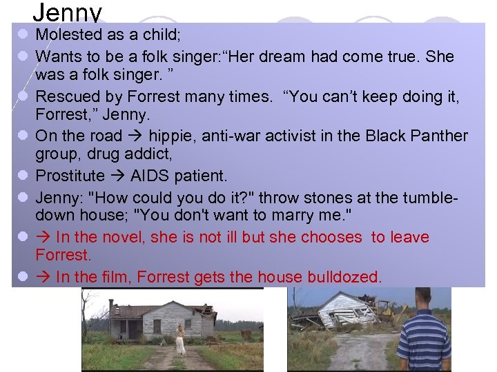 """Jenny l Molested as a child; l Wants to be a folk singer: """"Her"""
