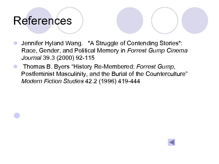 References l Jennifer Hyland Wang.