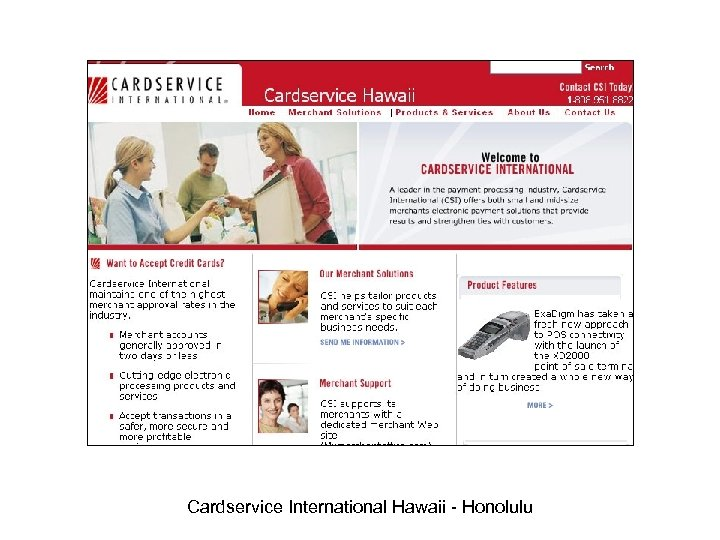 Cardservice International Hawaii - Honolulu