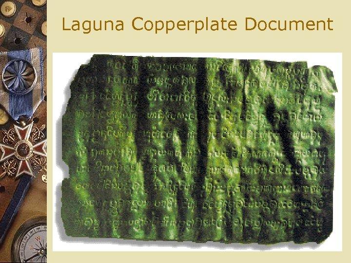 Laguna Copperplate Document