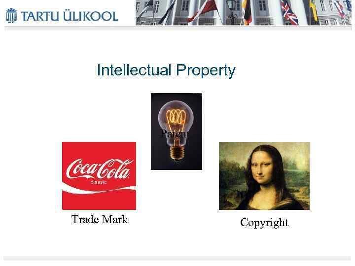 Intellectual Property Patent Trade Mark Copyright