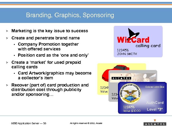 Branding, Graphics, Sponsoring > Marketing is the key issue to success > Create and
