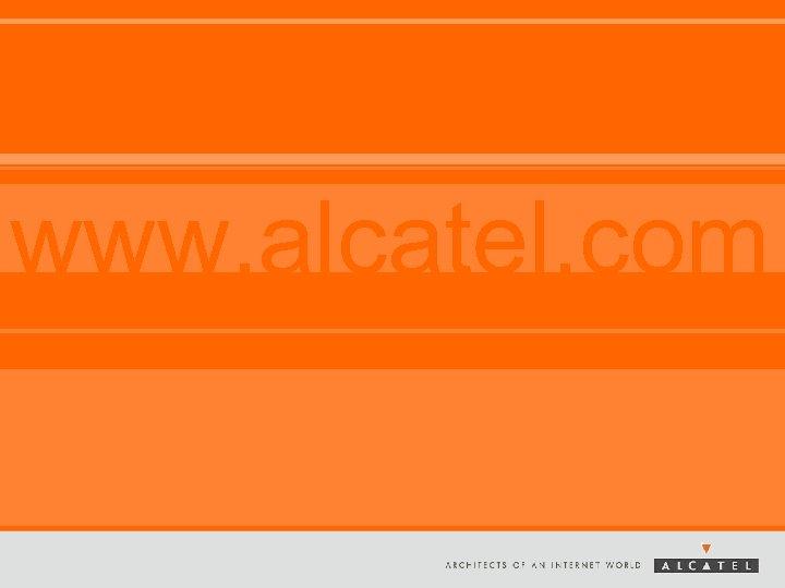 www. alcatel. com