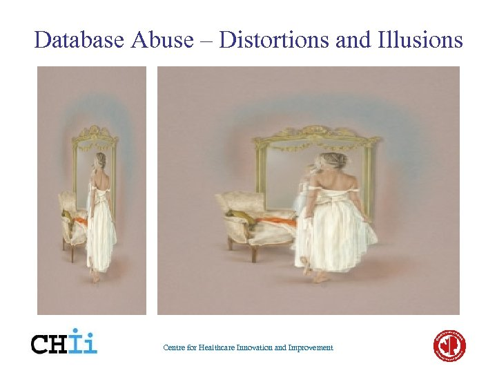 Database Abuse – Distortions and Illusions Centre for Healthcare Innovation and Improvement