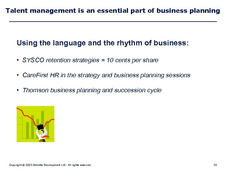 Talent management is an essential part of business planning Using the language and the