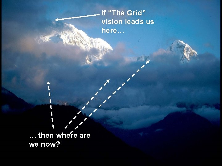 """If """"The Grid"""" vision leads us here… … then where are we now?"""