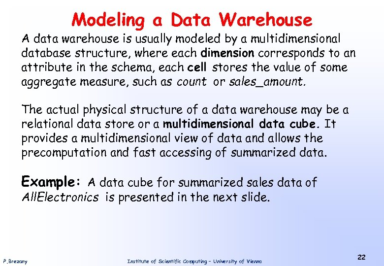 Introduction to Data Mining Univ -Prof Dr Peter