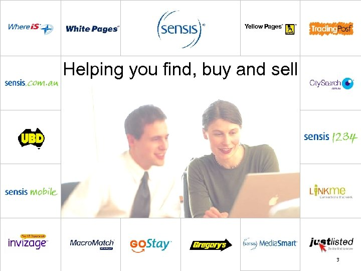 Helping you find, buy and sell 3
