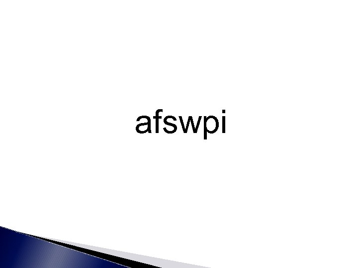 afswpi