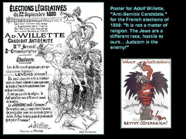 Poster for Adolf Willette,