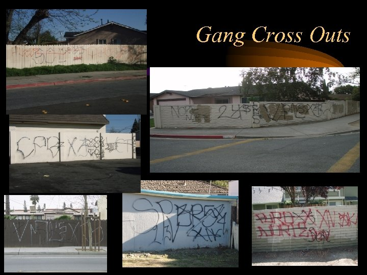 Gang Cross Outs