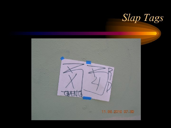 Slap Tags