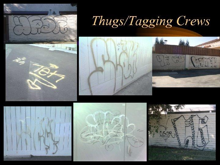 Thugs/Tagging Crews