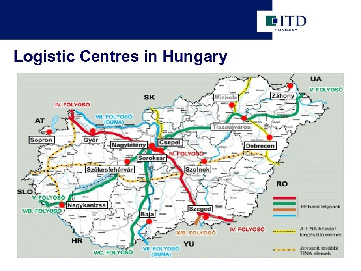 Logistic Centres in Hungary