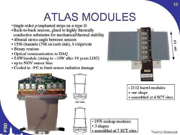 10 PSD ATLAS MODULES Themis Bowcock