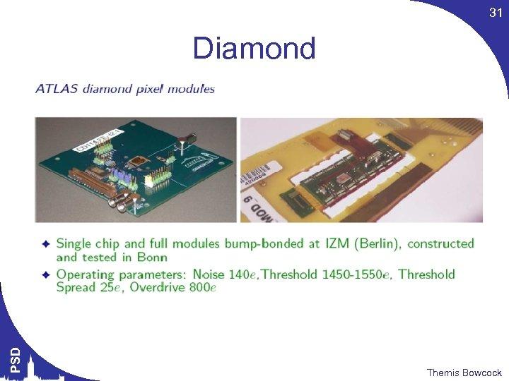 31 PSD Diamond Themis Bowcock
