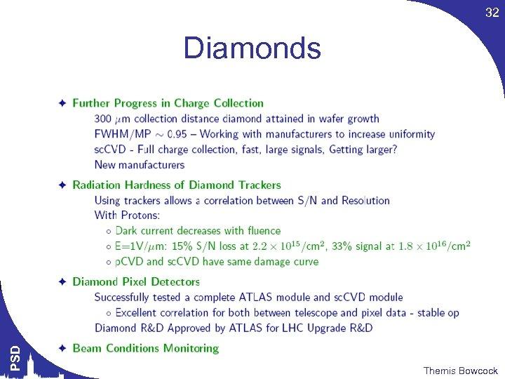 32 PSD Diamonds Themis Bowcock