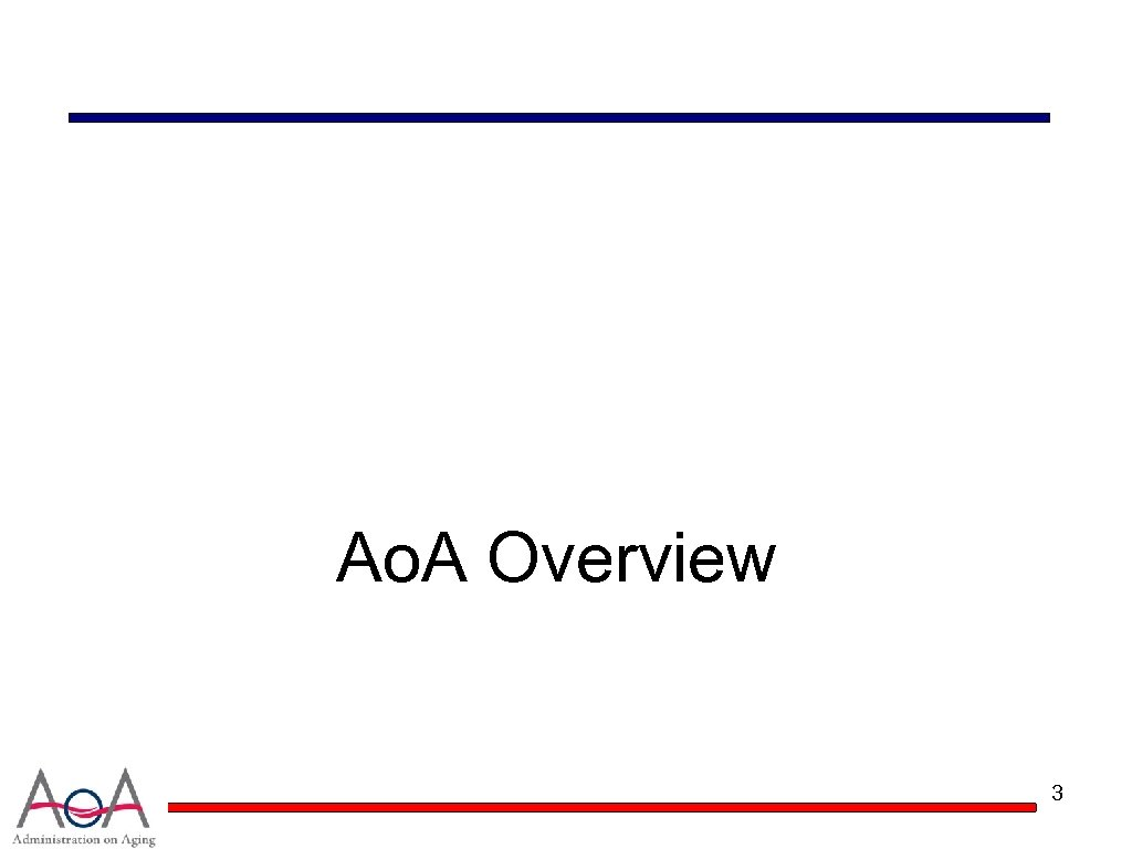 Ao. A Overview 3