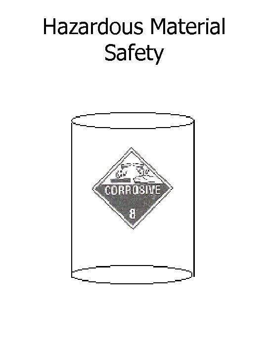Hazardous Material Safety