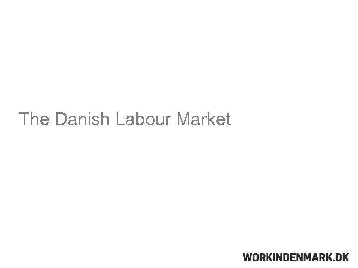 The Danish Labour Market