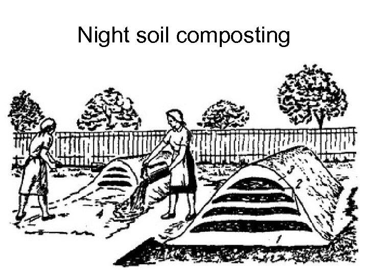 Night soil composting L. V. Maksimenko 16