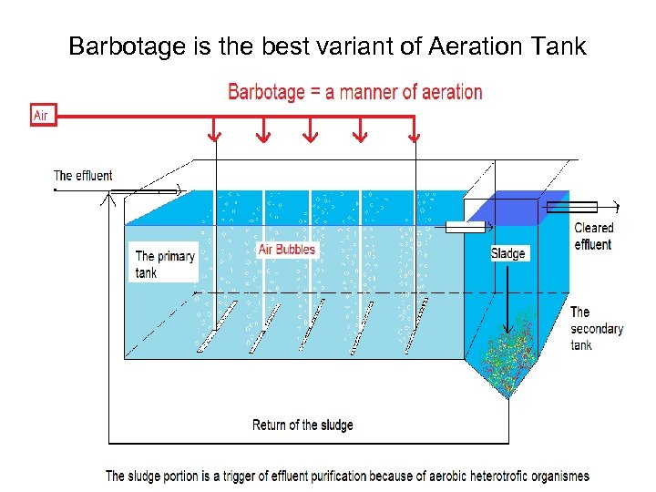 Barbotage is the best variant of Aeration Tank L. V. Maksimenko 47