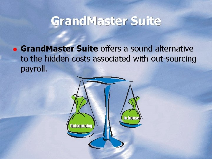 Grand. Master Suite l Grand. Master Suite offers a sound alternative to the hidden