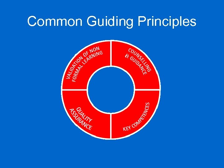 Common Guiding Principles