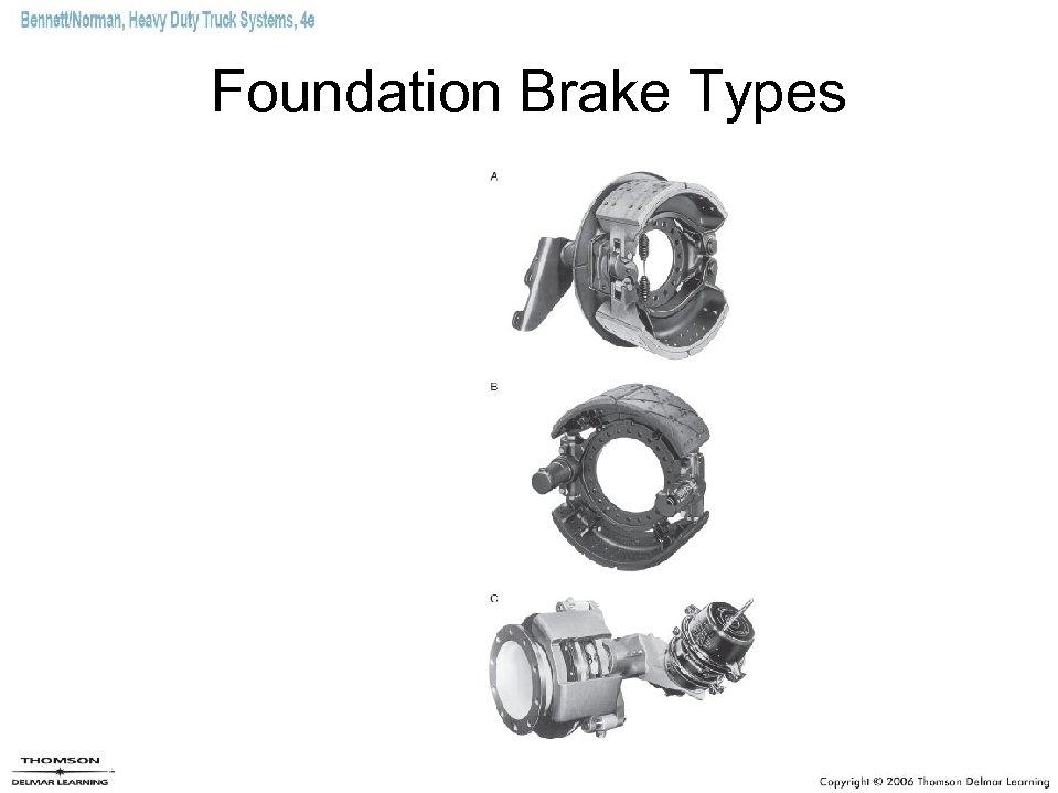 Foundation Brake Types