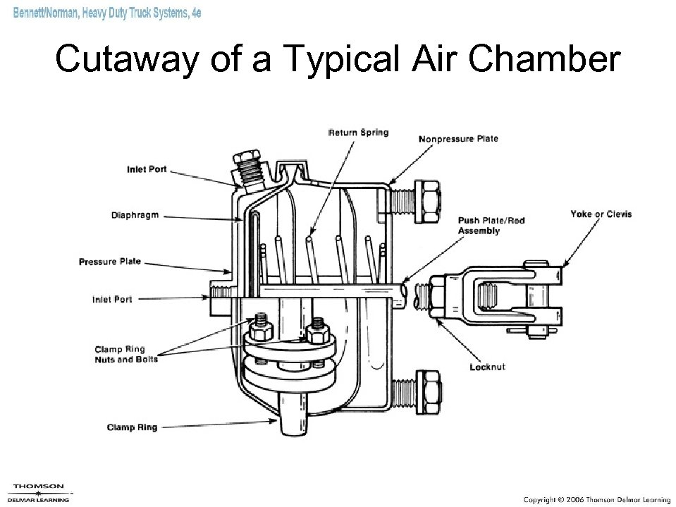Cutaway of a Typical Air Chamber