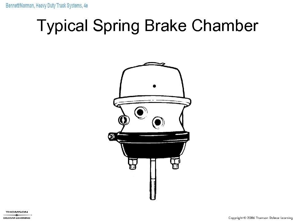 Typical Spring Brake Chamber