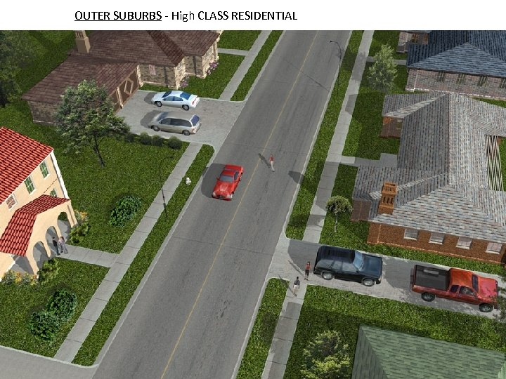 OUTER SUBURBS - High CLASS RESIDENTIAL