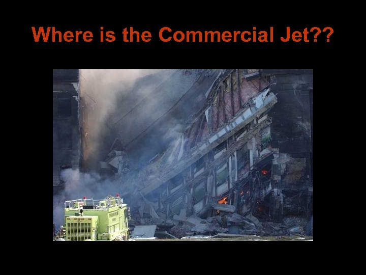 Where is the Commercial Jet? ?