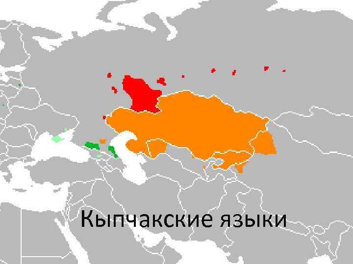 Кыпчакские языки
