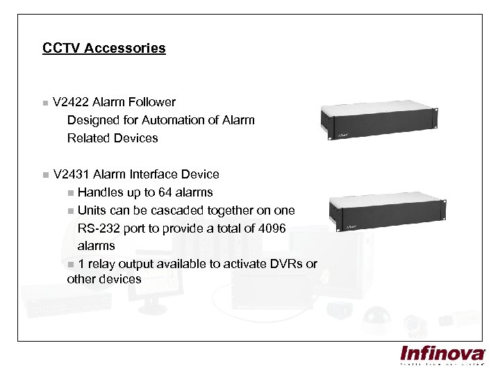 CCTV Accessories n V 2422 Alarm Follower Designed for Automation of Alarm Related Devices
