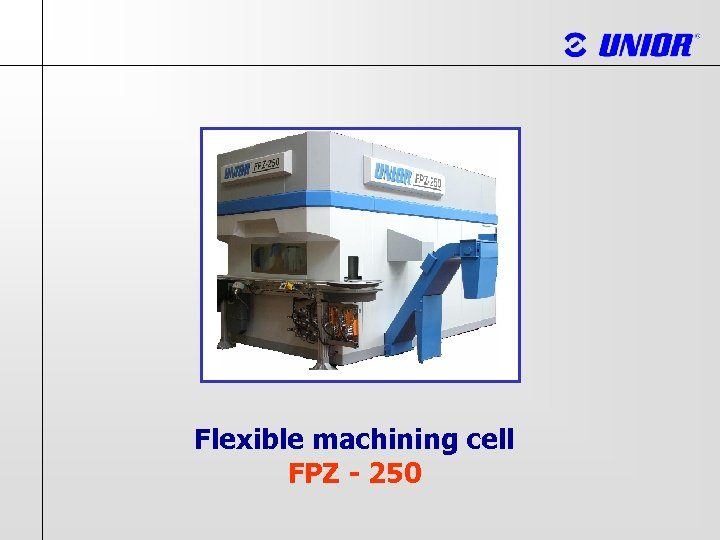 Flexible machining cell FPZ - 250