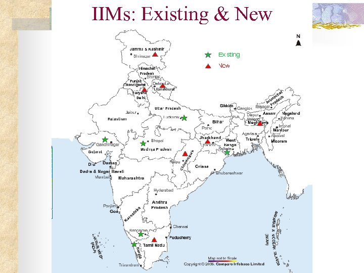 IIMs: Existing & New