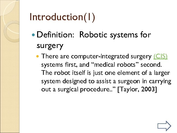 Medical Robotics History current and future applications