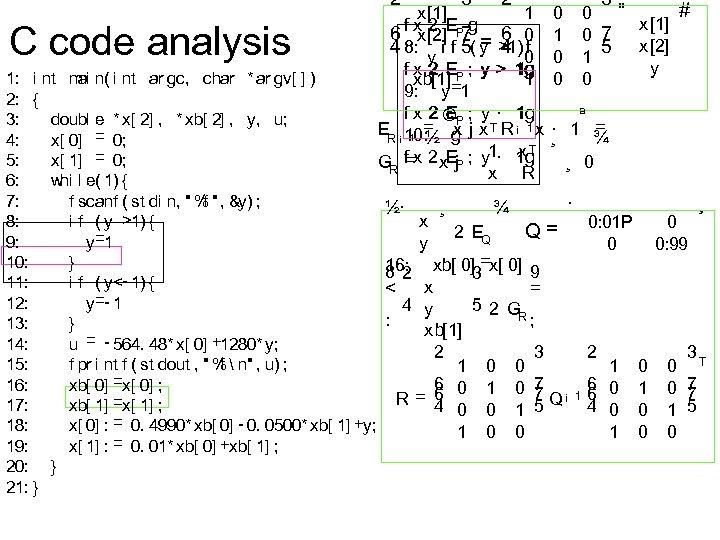 2 C code analysis ai 1: i nt m n( i nt ar gc,