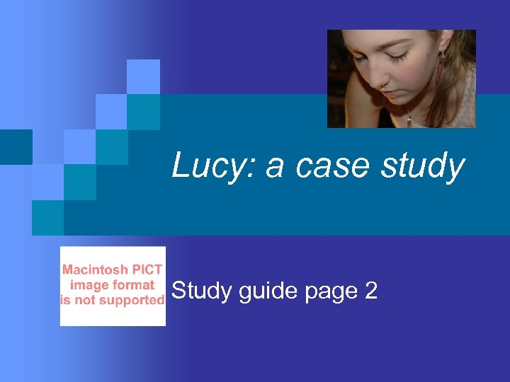 Lucy: a case study Study guide page 2