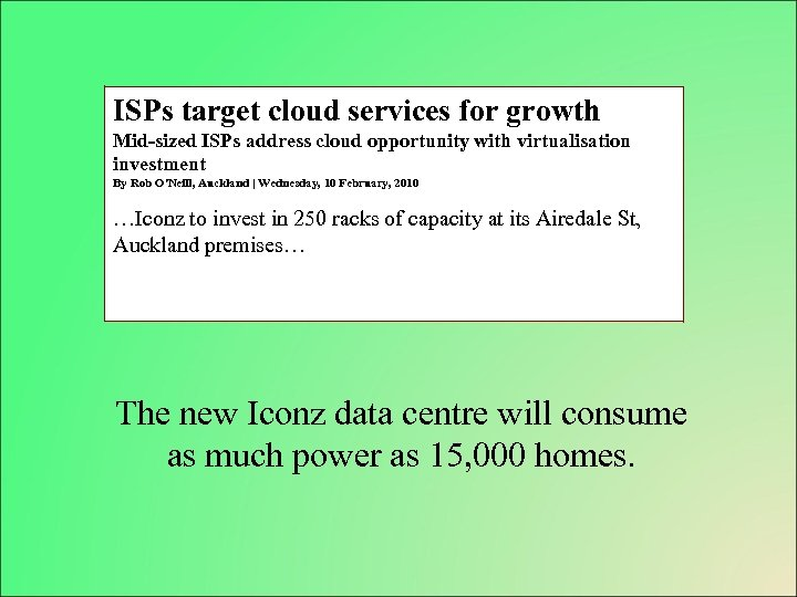 ISPs target cloud services for growth Mid-sized ISPs address cloud opportunity with virtualisation investment