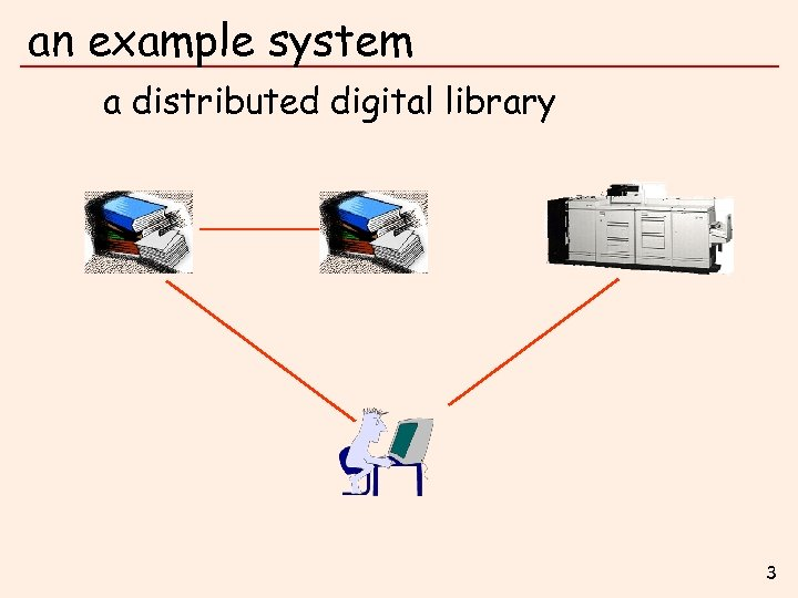 an example system a distributed digital library 3
